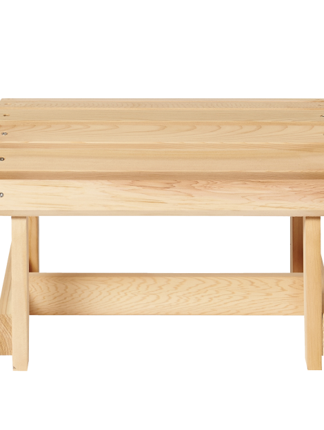 Bearchair - Footbench front